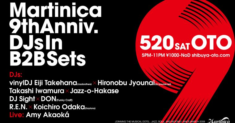5.20.sat Martinica 9th Anniversary